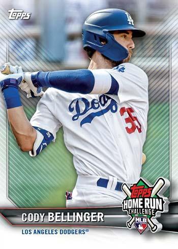 2021 Topps Home Run Challenge Cody Bellinger