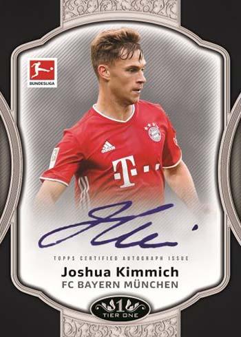 2021 Topps Tier One Bundesliga Break Out Autographs