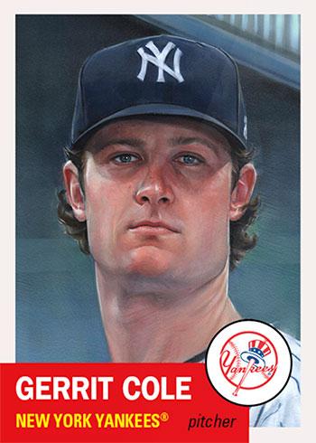 Topps Living Set Baseball 377 Gerrit Cole by Jared Kelley