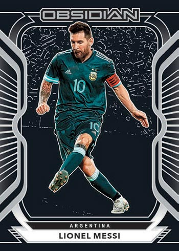 2020-21 Panini Obsidian Soccer Lionel Messi