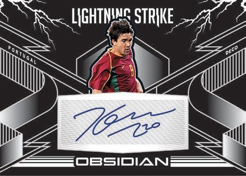2020-21 Panini Obsidian Soccer Lightning Strike
