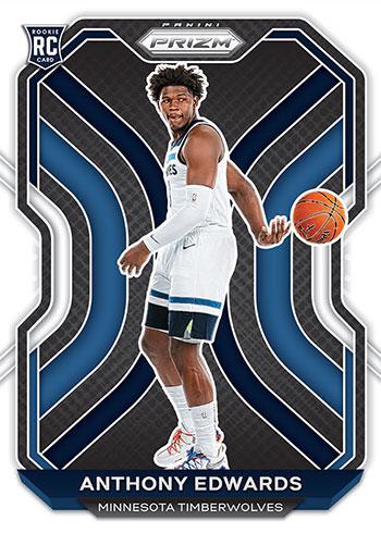 2020-21 Panini Prizm Basketball Anthony Edwards