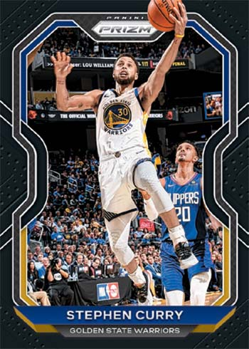 2020-21 Panini Prizm Basketball Black Prizms Stephen Curry