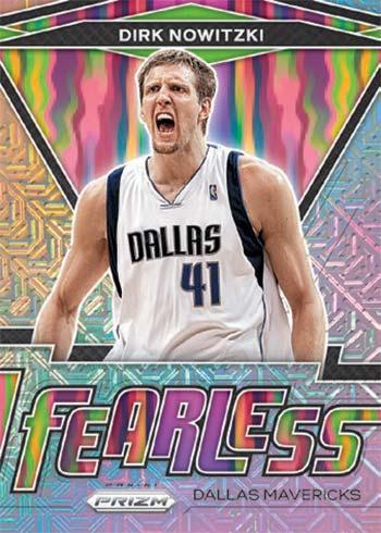 2020-21 Panini Prizm Basketball Fearless Mojo Prizms Dirk Nowitzki