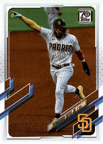 2021 Topps Series 1 Baseball Fernando Tatis Jr.