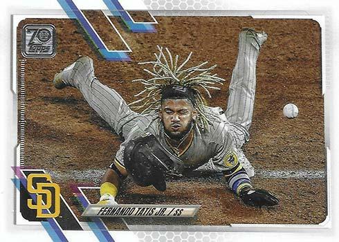 2021 Topps Series 1 Baseball Fernando Tatis Jr. SP
