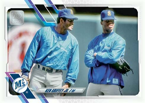 2021 Topps Series 1 Baseball Variations Ultra Rare Ken Griffey Jr.