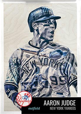 Topps Project70 11 Aaron Judge by Lauren Taylor