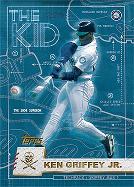 Topps Project70 12 Ken Griffey Jr. by The Shoe Surgeon