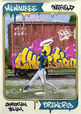 Topps Project70 17 Christian Yelich by CES