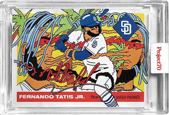 Topps Project70 2 Fernando Tatis Jr. by Ermsy