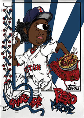 Topps Project70 20 Pedro Martinez by Distortedd