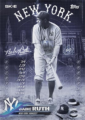 Topps Project70 3 Babe Ruth by DJ Skee