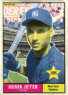 Topps Project70 9 Derek Jeter by New York Nico