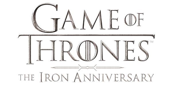 2021 Rittenhouse Game of Thrones Iron Anniversary Series 1 Logo