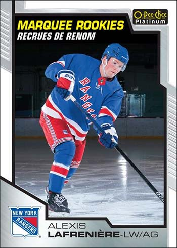 2020-21 O-Pee-Chee Platinum Hockey Alexis Lafreniere