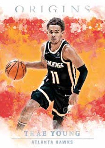 2020-21 Panini Origins Basketball Gold Trae Young