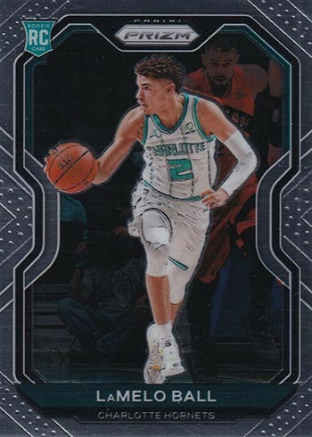 LaMelo Ball, Anthony Edwards, 2020 NBA draft Prizm rookie card watch