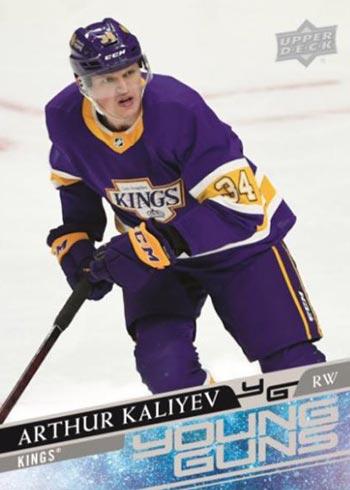 2020-21 Upper Deck Extended Series Hockey Arthur Kaliyev