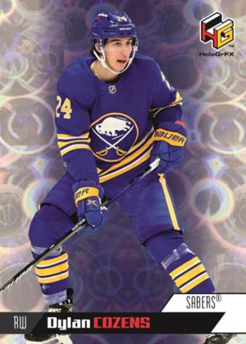 2020-21 Upper Deck Extended Series Hockey HoloGrFx