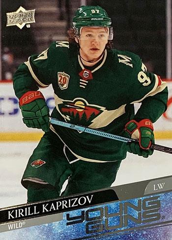 2020-21 Upper Deck Series 2 Hockey Kirill Kaprizov Rookie Card