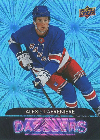 2020-21 Upper Deck Series 2 Hockey Dazzlers Alexis Lafreniere