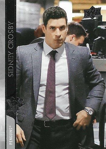2020-21 Upper Deck Series 2 Hockey Variations Sidney Crosby