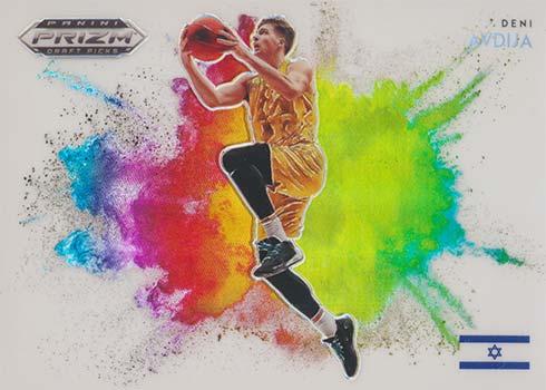 2020-21 Panini Prizm Draft Picks Basketball Color Blast Deni Avdija