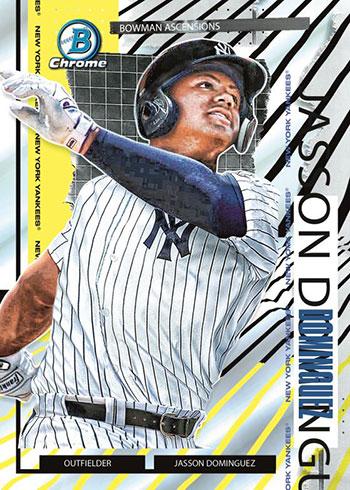 2021 Bowman Chrome Baseball Bowman Ascension Jasson Dominguez