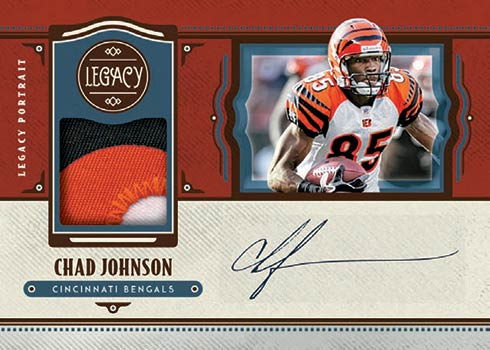 2021 Panini Legacy Football Legacy Patch Autographs