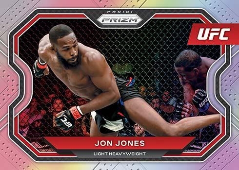 2021 Panini Prizm UFC Silver Prizms Jon Jones