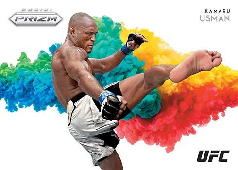 2021 Panini Prizm UFC Color Blast