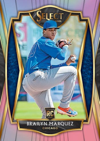 2021 Panini Select Baseball Holo