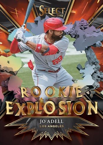 2021 Select Baseball Rookie Explosion Jo Adell