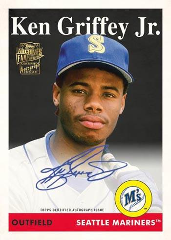 2021 Topps Archives Baseball Fan Favorites Premium Autographs