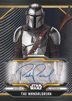 2021 Topps Star Wars Bounty Hunters Autograph