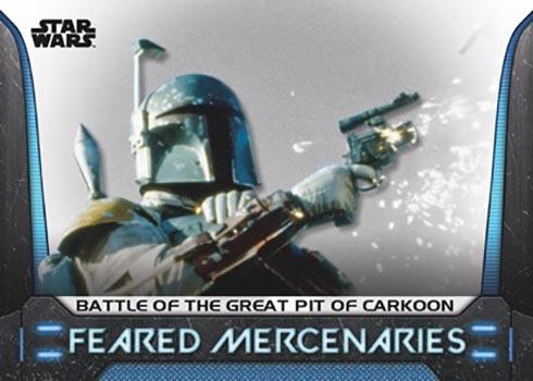 2021 Topps Star Wars Bounty Hunters Feared Mercenaries