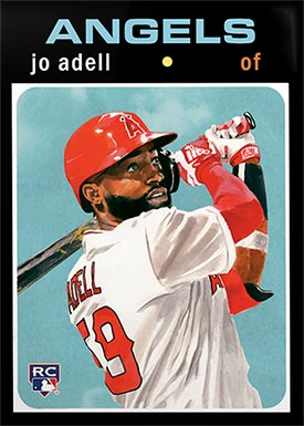 Topps Project70 32 Jo Adell by Jacob Rochester