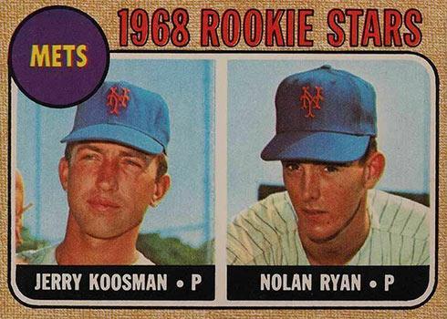 1968 O-Pee-Chee Nolan Ryan Rookie Card
