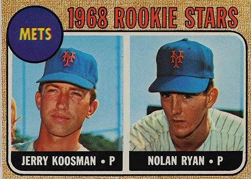 1968 Topps Milton Bradley Nolan Ryan