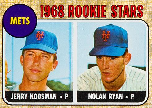 1968 Topps Nolan Ryan Rookie Card