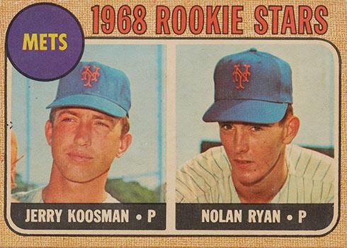 1968 Topps Venezuelan Nolan Ryan Jerry Koosman
