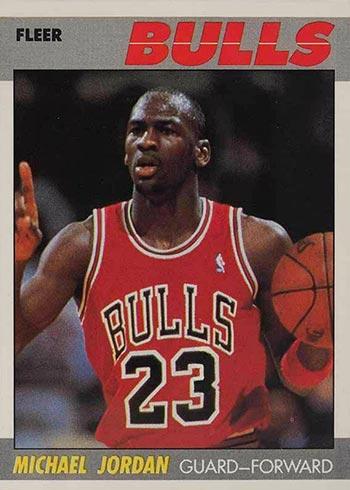 1987-88 Fleer Michael Jordan