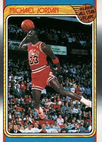 1988-89 Fleer Michael Jordan All-Star