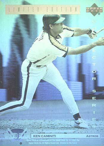 1992 Upper Deck Denny's Holograms 2 Ken Caminiti