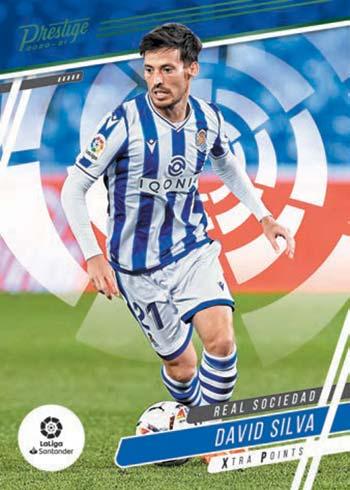 2020-21 Panini Chronicles Soccer Prestige David Silva