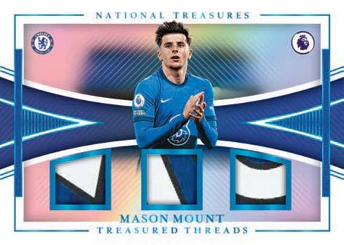 2020-21 Panini Chronicles Soccer Treasured Threads Mason Mount