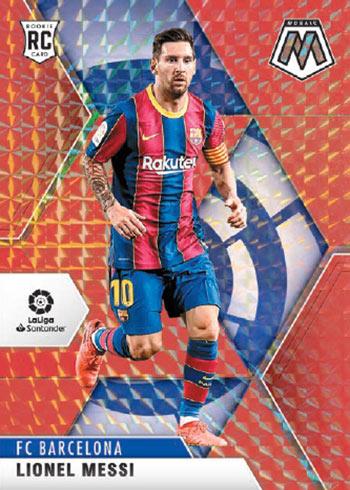 2020-21 Panini Mosaic LaLiga Red Lionel Messi