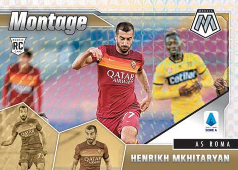 2020-21 Panini Mosaic Serie A Montage