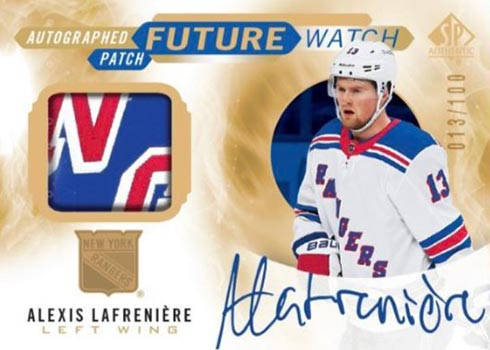 2020-21 SP Authentic Hockey Future Watch Auto Patch
